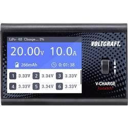 Višenamjenski punjač baterija za modele 12 V/DC 10 A VOLTCRAFT V-Charge Field 200 Olovni, LiFePO, LiHV, Litijev-ionski, Litijev-