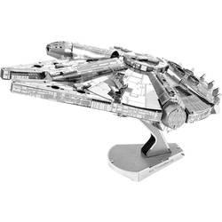 Komplet za sestavljanje iz kovine Metal Earth Iconx Star Wars Millenium
