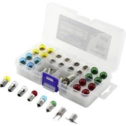 Barthelme 00430329 žarnica za lestvico 6 V 0.3 W Podnožje E10 rumena, rdeča, modra, zelena, čista 1 set