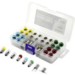 Barthelme 00430330 žarnica za lestvico 3.5 V 0.7 W Podnožje E10 rumena, rdeča, modra, zelena, čista 1 set