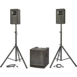 Komplet aktivnih PA zvočnikov Renkforce M.I.L.L.Y IV Vklj. nizkotonec, Vklj. stojalo