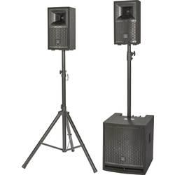 Komplet aktivnih PA zvočnikov Renkforce M.I.L.L.Y IV Vklj. nizkotonec, Vklj. stojalo, Vklj. distančna palica