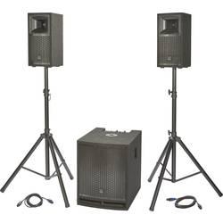 Komplet aktivnih PA zvočnikov Renkforce M.A.R.L.I.S IV Vklj. nizkotonec, Vklj. stojalo