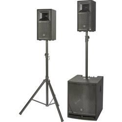 Komplet aktivnih PA zvočnikov Renkforce M.A.R.L.I.S IV Vklj. nizkotonec, Vklj. stojalo, Vklj. distančna palica