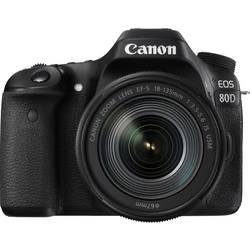 Systemkamera Digital Canon EOS 80D 24.2 MPix Svart