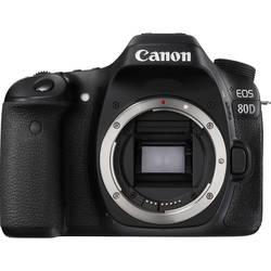 Systemkamera Canon EOS80D 24.2 MPix Svart