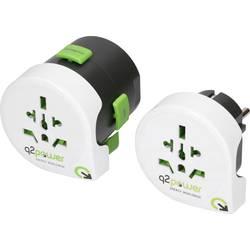 Q2 Power 2.100120 Potovalni adapter 2-delni komplet