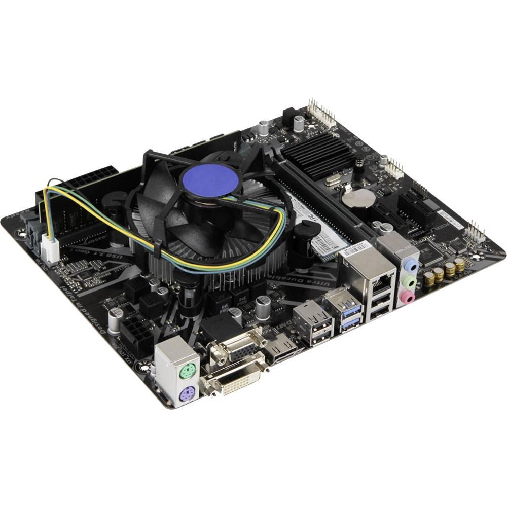 PC Tuning komplet (Office) Intel Core i3 i3-8100 (4 x 3.6 GHz) 8 GB Intel UHD Graphics 630 Micro-ATX