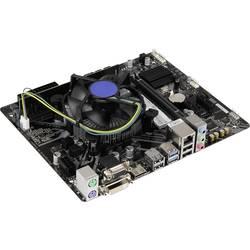 PC tuning komplet (pisarniški) Intel Core i3 i3-8100 (4 x 3.6 GHz) 8 GB Intel UHD Graphics 630 Micro-ATX
