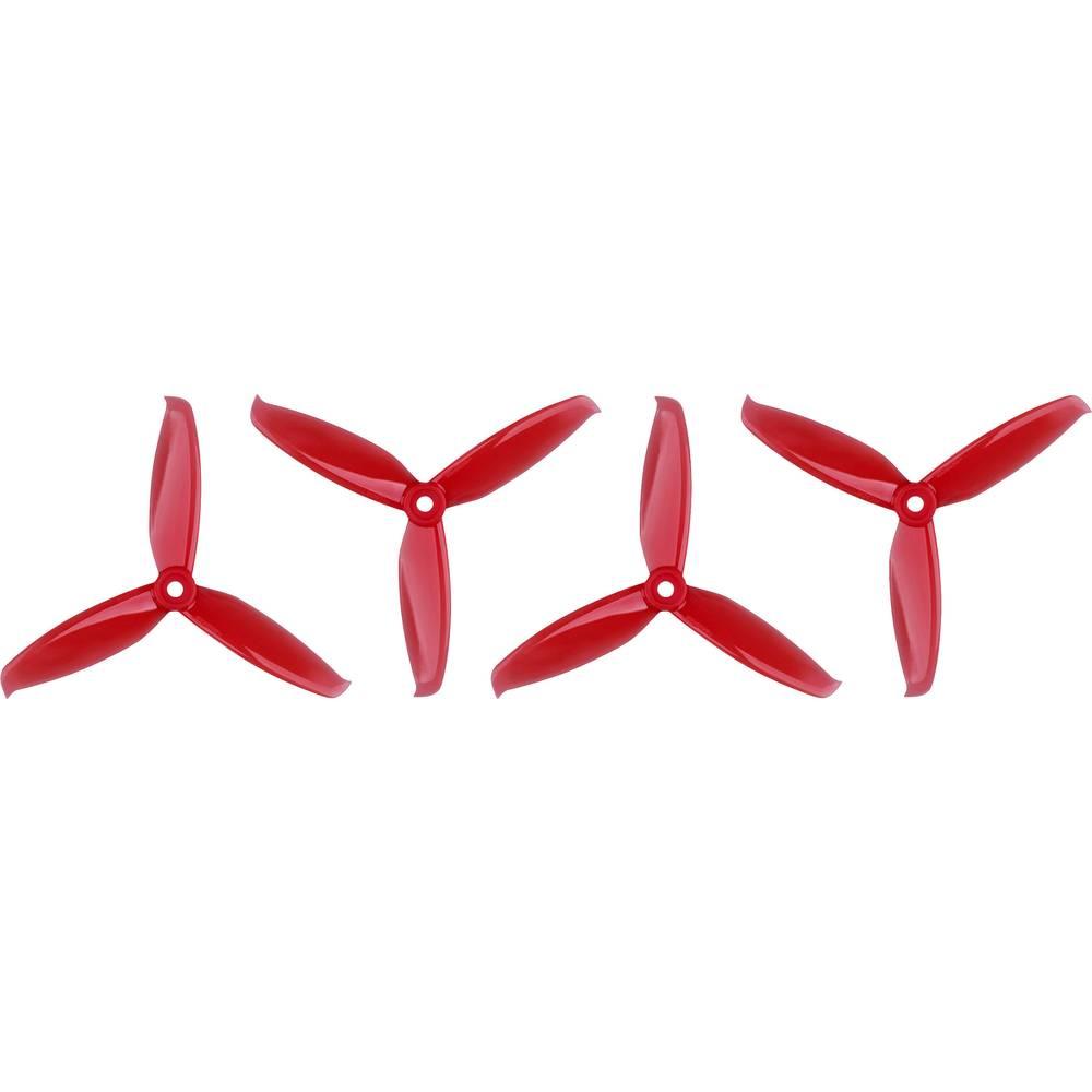 GEMFAN WinDancer 5042 Race Copter - komplet propelerjev, 3-kraki, normalni 5 x 4.2 (12.7 x 10.7 cm) PMPC5042-3R