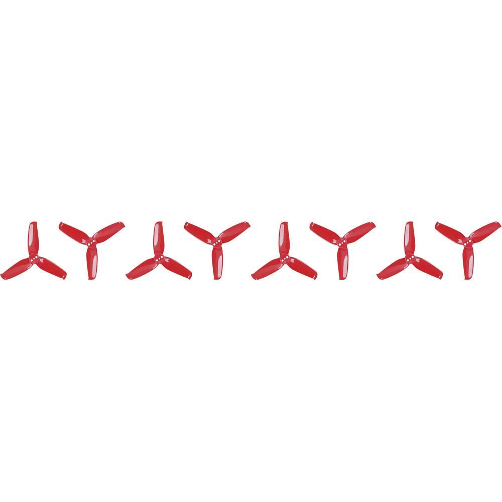 GEMFAN Flash 2540 Race Copter - komplet propelerjev, 3-kraki, normalni 2.5 x 4 (6.4 x 10.2 cm) PMPC2540-3R