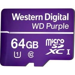 Western Digital WD Purple microSDXC kartica 64 GB Class 10, UHS-I