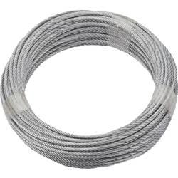 dörner + helmer 190389 čelična žičana užad (Ø x D) 3 mm x 10 m