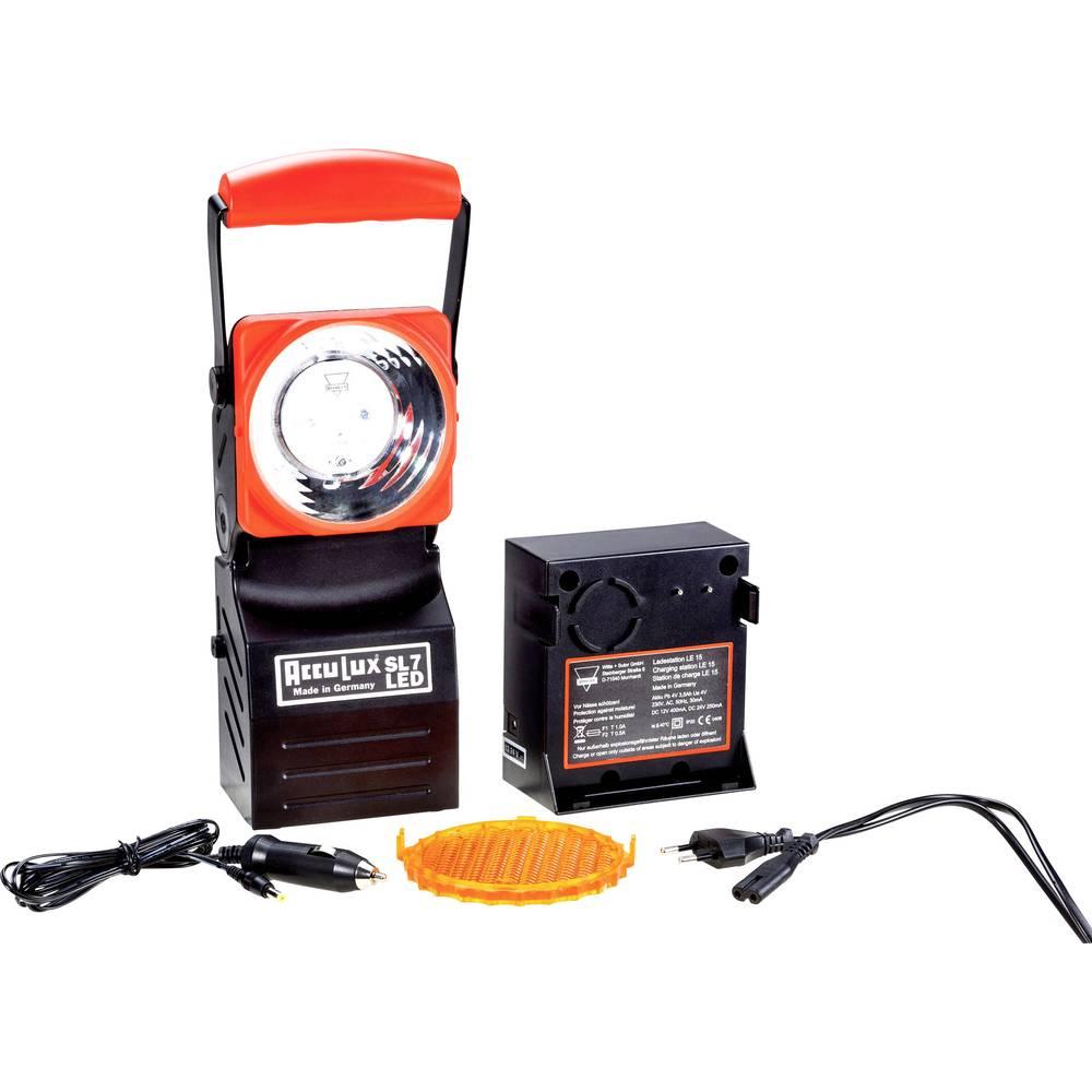 AccuLux Delovna luč Črna, Rdeča 456641 LED 5 h