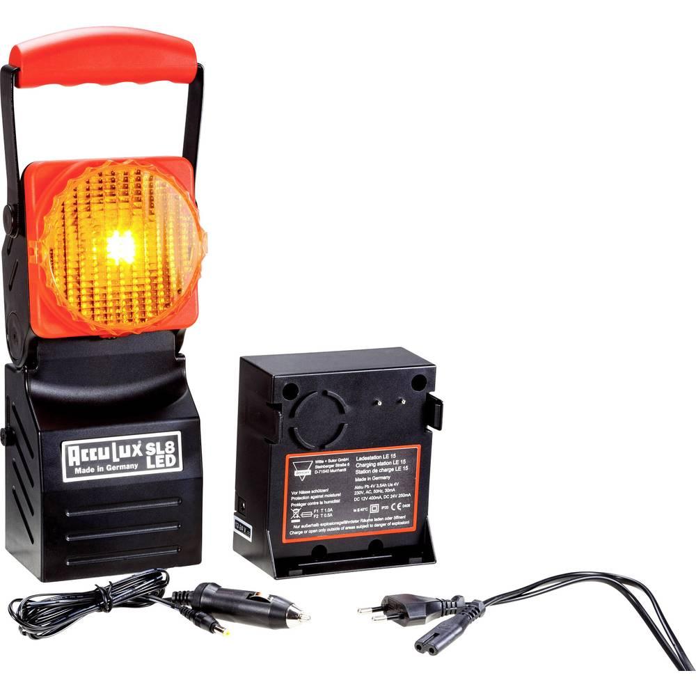 AccuLux Delovna luč Črna, Rdeča 456741 LED 5 h