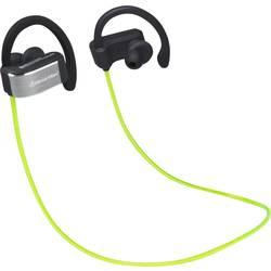 Sport Hörlurar In-ear Technaxx BT-X28 Bluetooth Svart, Grön