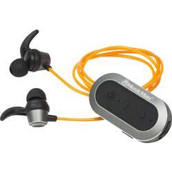 Sport Hörlurar In-ear Technaxx BT-X32 Bluetooth Orange, Svart