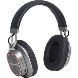 Hörlurar Over Ear Technaxx BT-X33 Bluetooth Svart, Silver