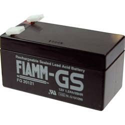 Fiamm Pb-12-1,2-4,8 FG20121 svinčeni akumulator 12 V 1.2 Ah svinčevo-koprenast (Š x V x G) 97 x 57 x 48 mm ploščati vtič 4,8 mm