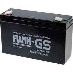 Fiamm PB-6-12 FG11201 Svinčeni akumulator 6 V 12 Ah Svinčevo-koprenast (Š x V x G) 151 x 99 x 50 mm Ploščati vtič 4,8 mm Brez vz