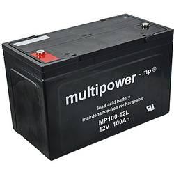 multipower PB-12-100 MP100-12L svinčeni akumulator 12 V 100 Ah svinčevo-koprenast (Š x V x G) 338 x 217 x 170 mm m6-vijačni prik