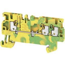 Prizemlje priključni blok A3C 1.5 PE 1552670000 Žuto-zelena Weidmüller 50 ST
