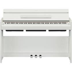 digitalni piano Yamaha YDP-S34WH bela s vključenim napajalnikom