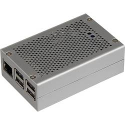Raspberry Pi® Hölje Joy-it RB-StromPI2-CaseSI Silver