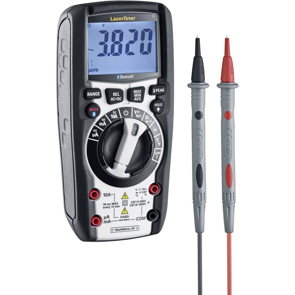 Laserliner MultiMeter XP (BT) ročni multimeter digitalni CAT III 1000 V, CAT IV 600 V Prikaz (štetje): 6000