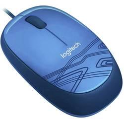 Logitech M105 USB wlan miš optički plava boja