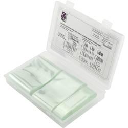 TRU COMPONENTS TC-6793932 Stisljiva cev za akumulatorje brez lepila Transparentna Razmerje krčenja:2:1 3 KOS