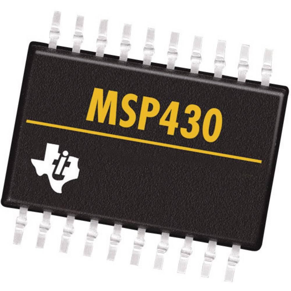 Vgrajeni mikrokontroler MSP430F1232IPW TSSOP-28 Texas Instruments 16-bitni 8 MHz število I/O 22
