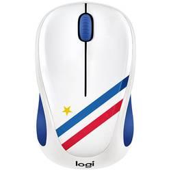 Logitech M238 France bežični wlan miš optički plava boja, bijela, crvena