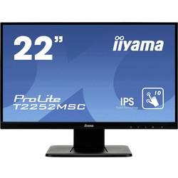Iiyama PROLITE T2252MSC-B1 zaslon na dotik 54.6 cm (21.5) 1920 x 1080 pikslov 16:9 7 ms VGA, HDMI™, DisplayPort IPS LED