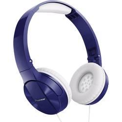 Pioneer SE-MJ503-L slušalke, On Ear, zložljive, modre barve