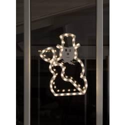 Snežak Topla bela LED Konstsmide 2179-010 Bela