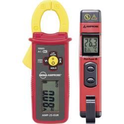 Strujne stezaljke digitalni Beha Amprobe AMP-25-EUR - IR-450-EUR CAT III 600 V Zaslon (brojevi): 6000