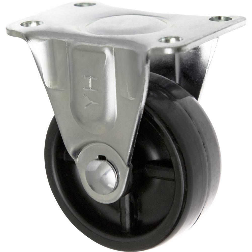 TOOLCRAFT TO-5137899 Fiksirani kotačić PP 50 mm s montažnom pločom