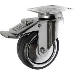 TOOLCRAFT TO-5137914 Okretni kotač s kočnicom 80 mm s montažnom pločom