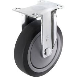 TOOLCRAFT TO-5137923 Fiksirani kotačić TPR 100 mm s navojnom pločicom