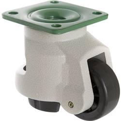 TOOLCRAFT TO-5137971 Okretni kotač podesiv 73 mm 1000 kg s montažnom pločom