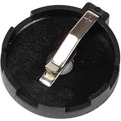 Velleman BH-002 Nosilec gumbnih baterij 1xCR 2425, CR 2430 Vodoravno, Vtična montaža THT (Ø x V) 27.68 mm x 7.4 mm