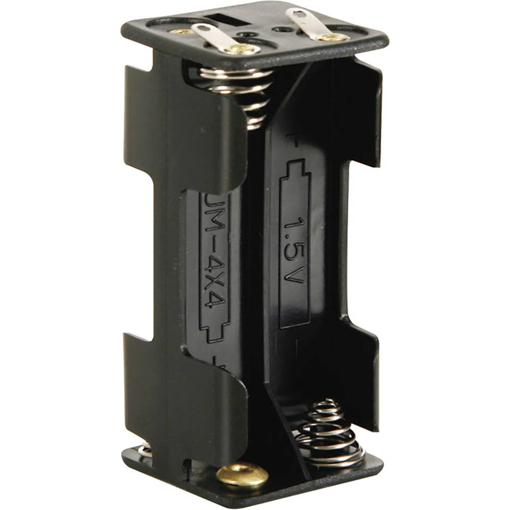 Baterije - držač 4x Micro (AAA) Lemni priključak (D x Š x V) 53 x 27 x 25 mm Velleman BH443D