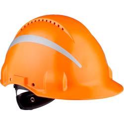 3M G3000 Reflex G30NUOR Zaščitna čelada Oranžna