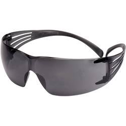 3M SecureFit SF202AF Zaščitna delovna očala Vklj. zaščita proti rošenju Črna