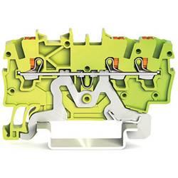 WAGO 2200-1307 sponka za zaščitni vodnik 3.50 mm Push-In sponka zeleno-rumene barve 100 kosov