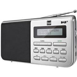 Dual DAB 4.1 namizni radio dab+, ukw aux srebrna, črna