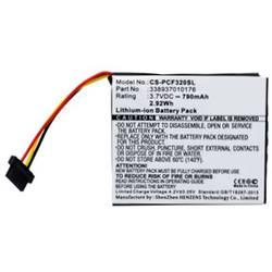 Beltrona Akumulatorska navigacijska naprava Nadomešča originalno baterijo 338937010176 3.7 V 790 mAh