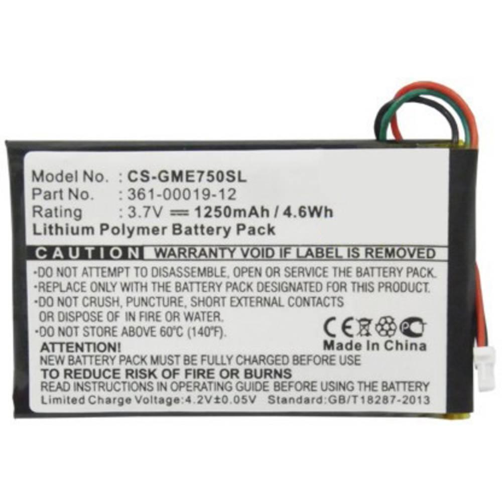 Beltrona akumulatorska navigacijska naprava Nadomešča originalno baterijo 361-00019-12 3.7 V 1250 mAh