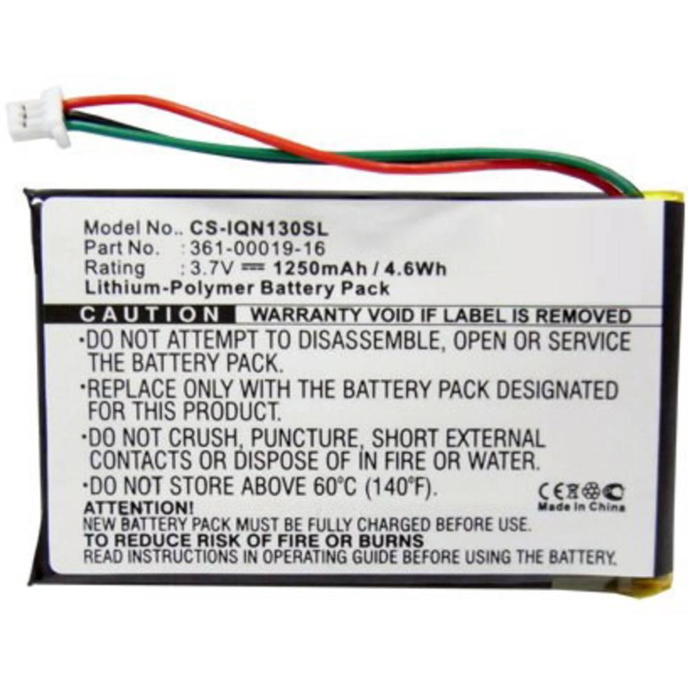 Beltrona akumulatorska navigacijska naprava Nadomešča originalno baterijo 361-00019-12, 361-00019-16 3.7 V 1250 mAh